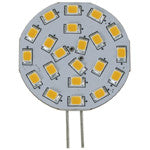 Light-Bulb LED G4 Side-Pin 10-30v 21-SMD Warm-White