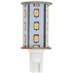 Light-Bulb LED #906 Bayonet 10-30v 15-SMD Compact Tower Warm-White