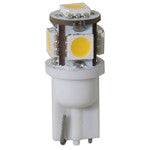 Light-Bulb LED #194 Wedge 12v Mini-Tower Warm-White