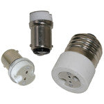 Light-Bulb Adapter Base BA15s-NI to G4 (Single Contact Bayonet Non-Indexed to G4)