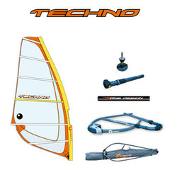 Rig 5.8m² - Sail + Mast 430cm + Boom  for BIC Techno 293 OD