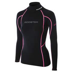 Womens Shirt Pro Brushed Lycra Long Sleeve by Rooster Sailing