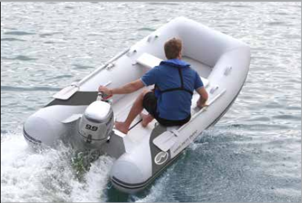Superlight Rigid Inflatable Boat by Walker Bay