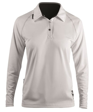 WOMENS LONG SLEEVE ZhikDRY POLO by Zhik ZHKTOP83W