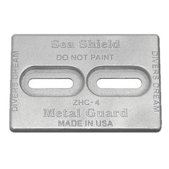 "Anode Zinc Hull 6 x 4 x 1/2"" Diver's Dream Mini"