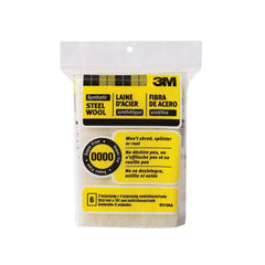 Pad Cleaning Synthetic Steel-Wool 6/pack by 3M