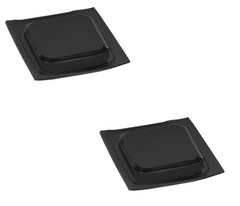 Sunfish Rubber Bumper Pads for Rudder Head LAS85267 by Laser Performance
