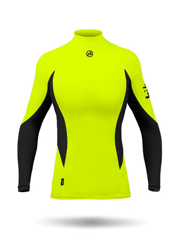 WOMENS LONG SLEEVE SPANDEX TOP by Zhik ZHKTOP60