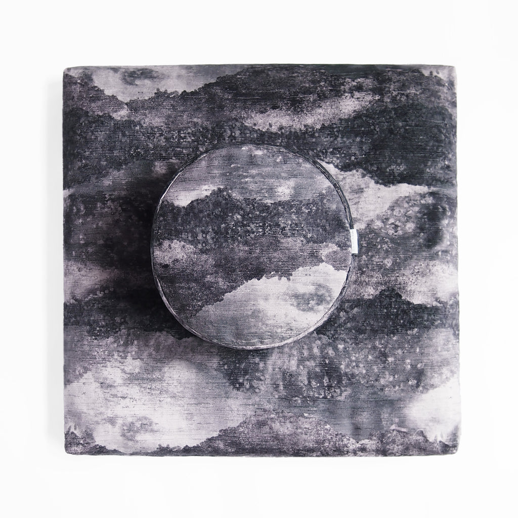 samaya meditation cushion basalt