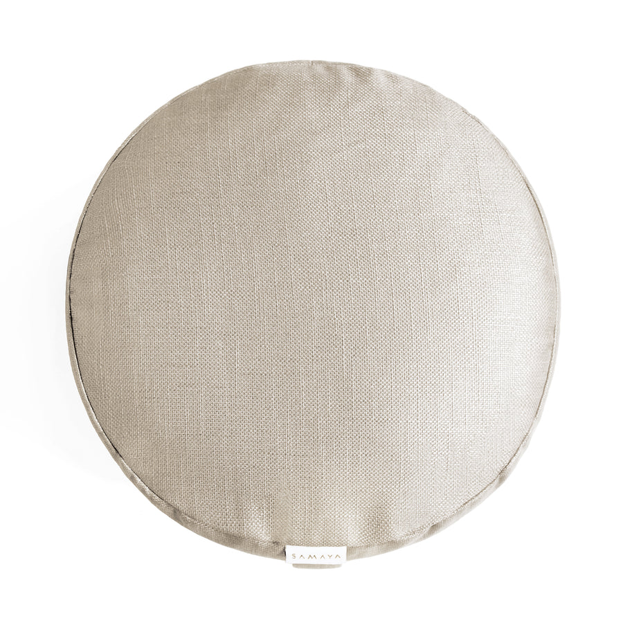 Desert Gold Round Cushion