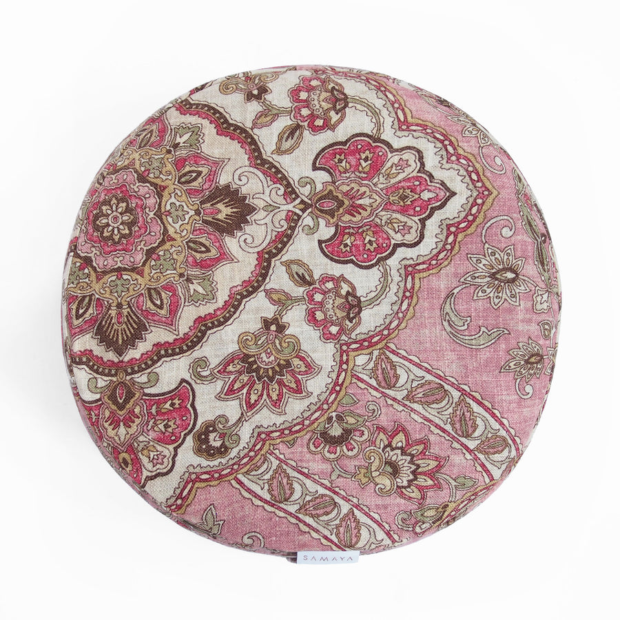 Pink Bohème Round Cushion
