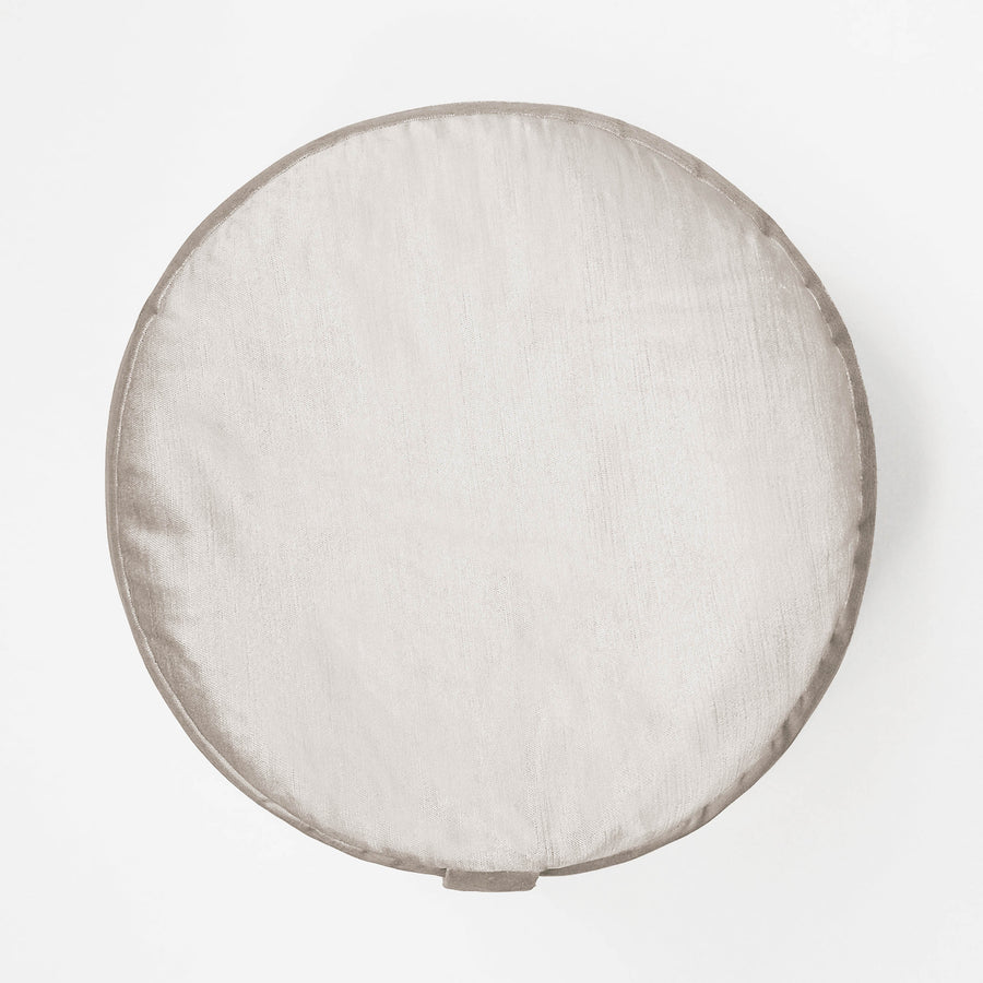 Velvet Moon Round Cushion
