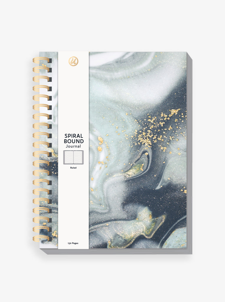 Marble Swirl Journal