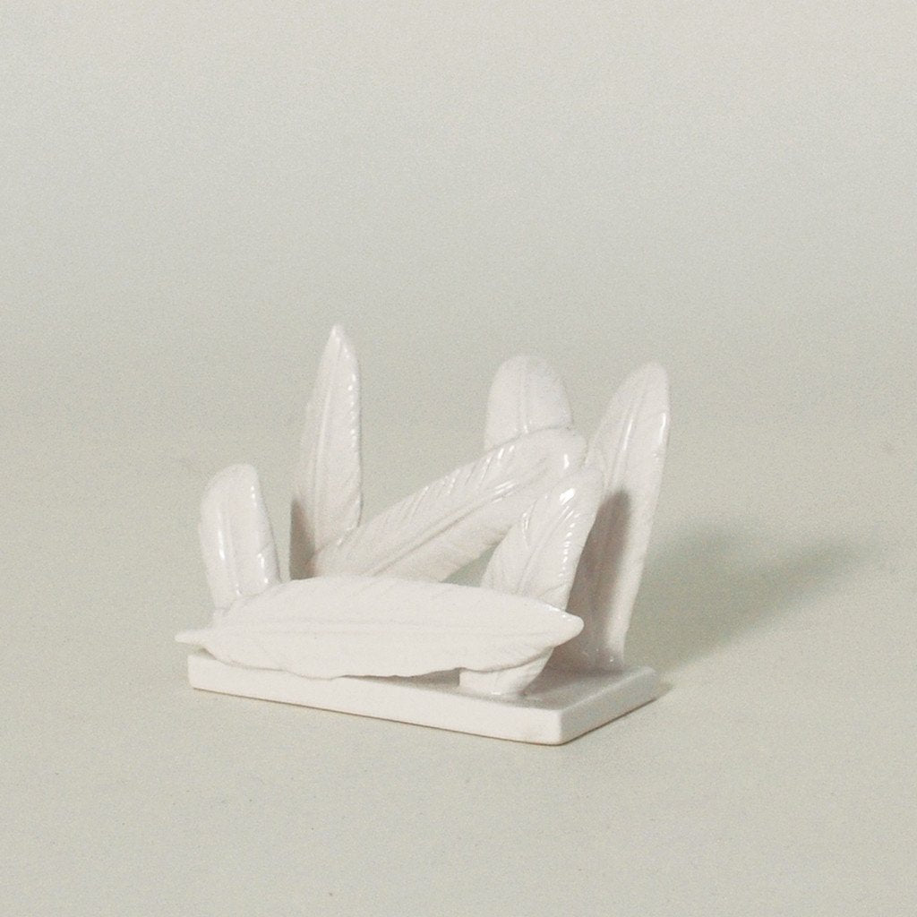 In Fine Feathers Card Holder