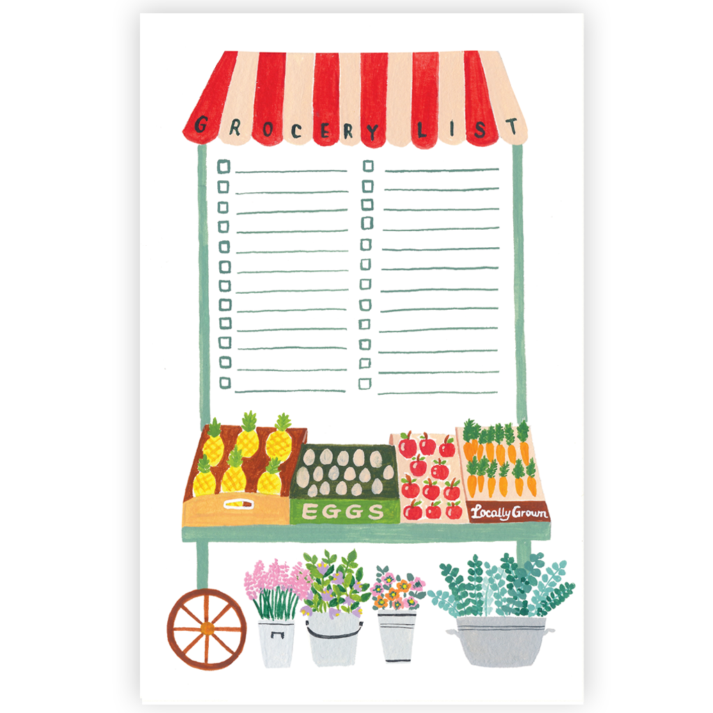 Forage Paper Co. - Farmer's Market List Notepad