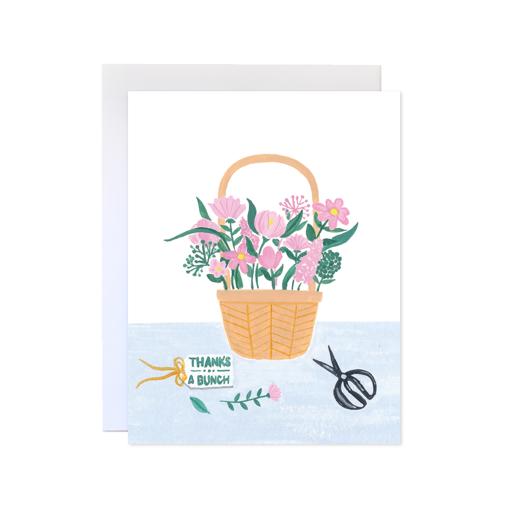 Forage Paper Co. - Flower Basket