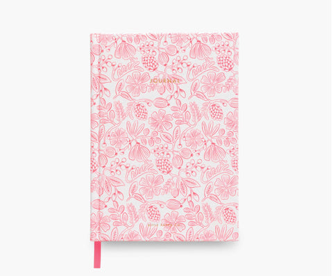 Moxie Floral Fabric Journal