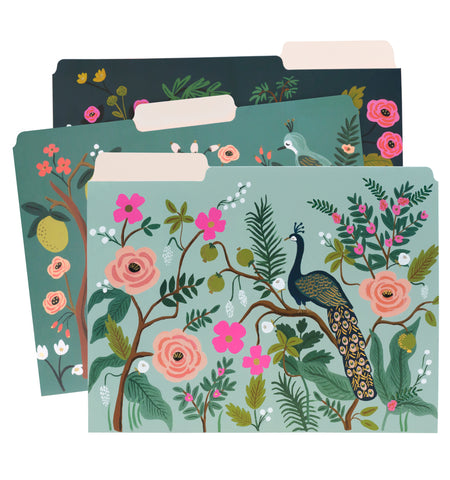 Shanghai Garden Assorted File Folders