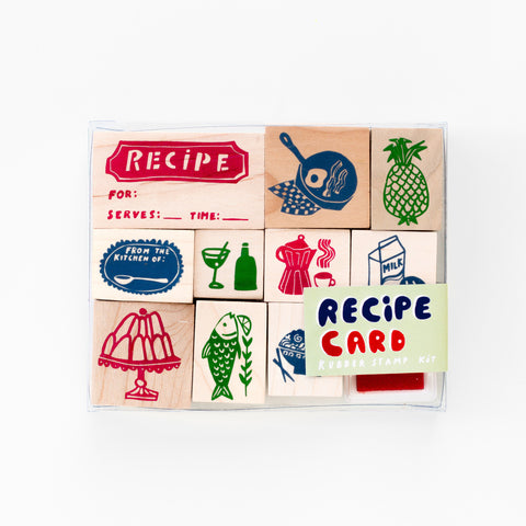 Recipe Card Stamp Kit