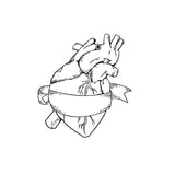 The Arcadian Heart Stamp