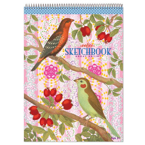 Birds and Berries Sketchbook