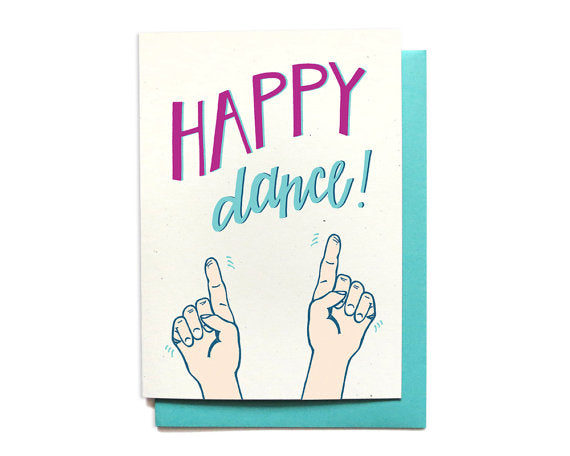 Happy Dance! Graduation Greeting Card