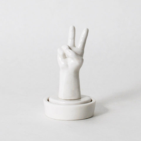 The Arcadian Peace Hand Sign Stamp