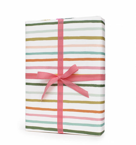 Happy Stripe Wrapping Sheet