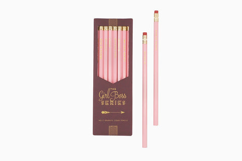 Girl Boss Series Pencil Set - Pencils