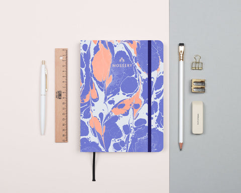 Lava Periwinkle Notebook
