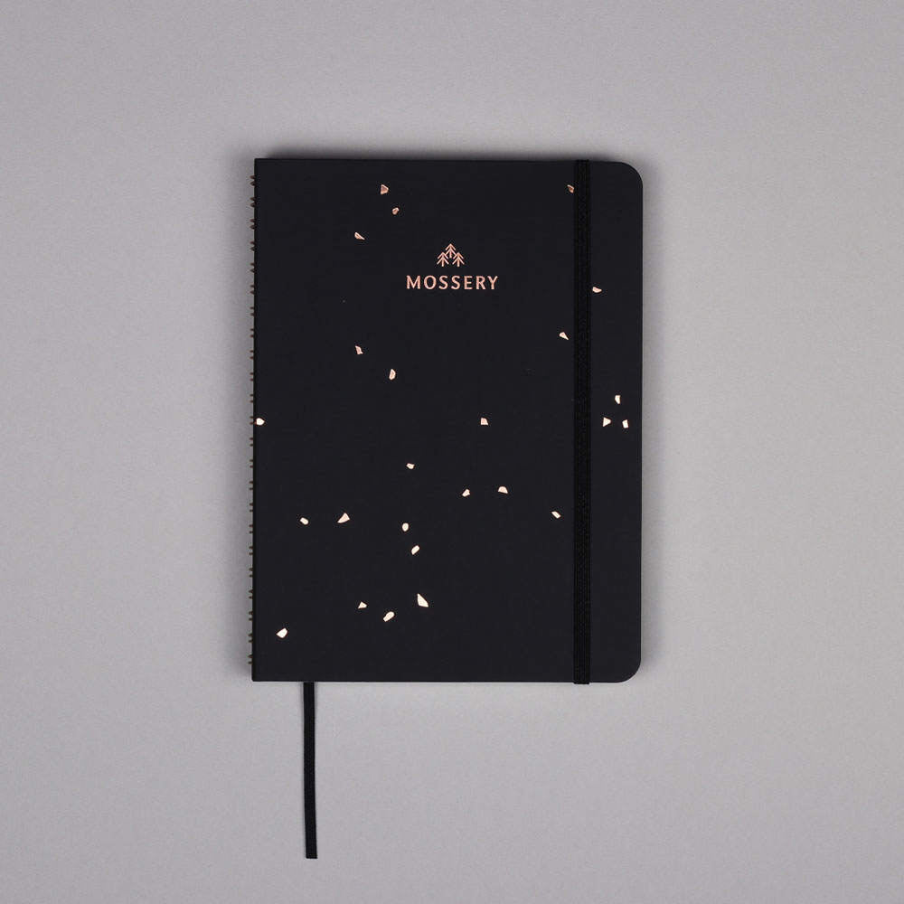 Black Speckle Notebook