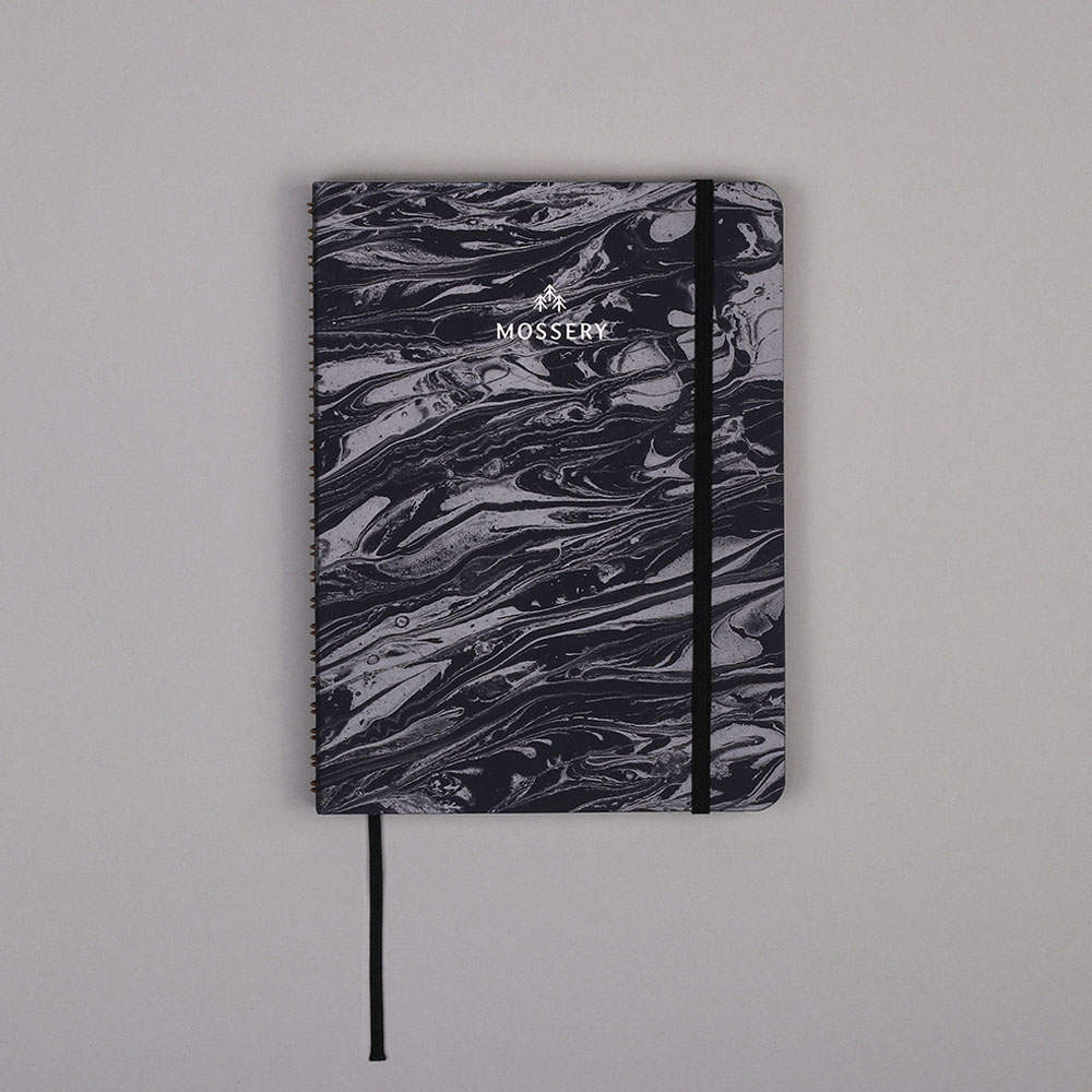 Lunar Marble Notebook