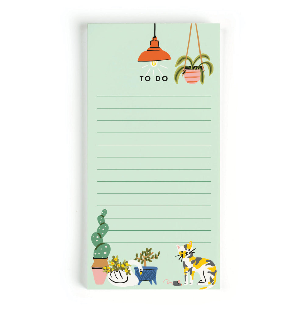 Plant Lady To-Do Notepad