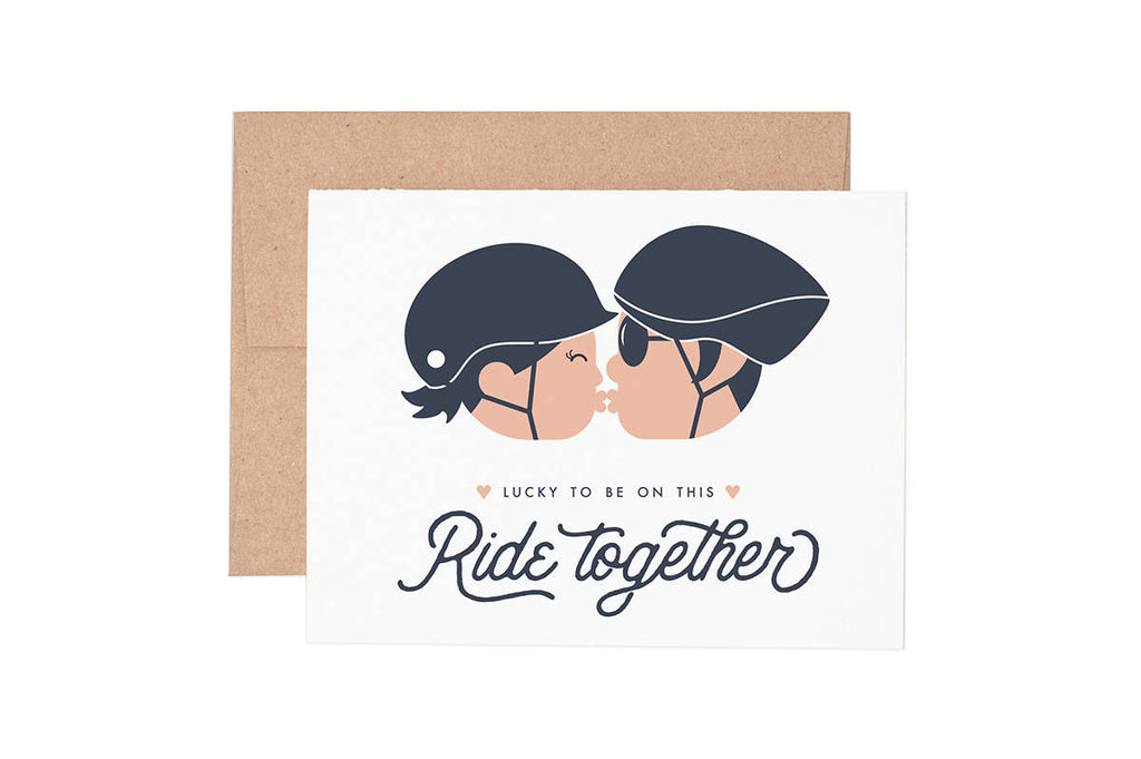 Ride Together Love Card