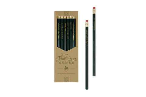 Plant Lover Series Pencil Set - Pencils