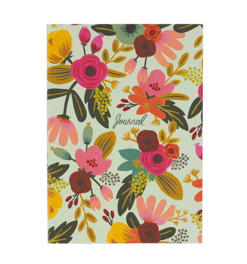 Mint Floral Everyday Journal