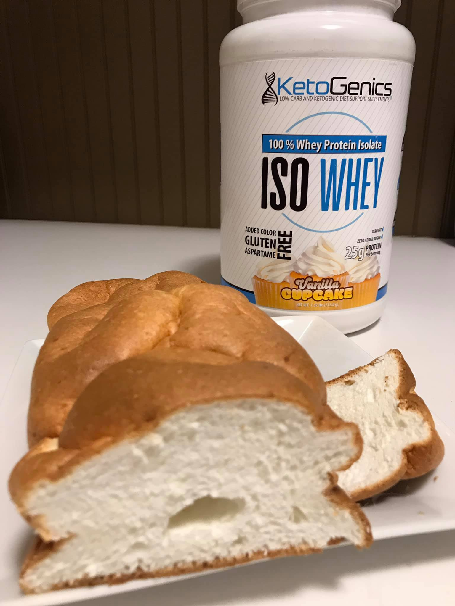 Low Carb Keto Friendly Angel Food Cake