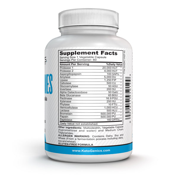 Ketogenic Digestive Enzymes