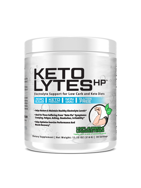 Unflavored Keto Lytes HP