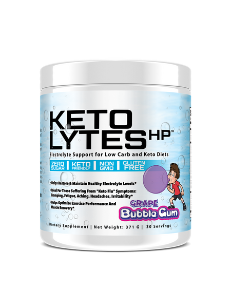 Grape Bubblegum Keto Lytes HP