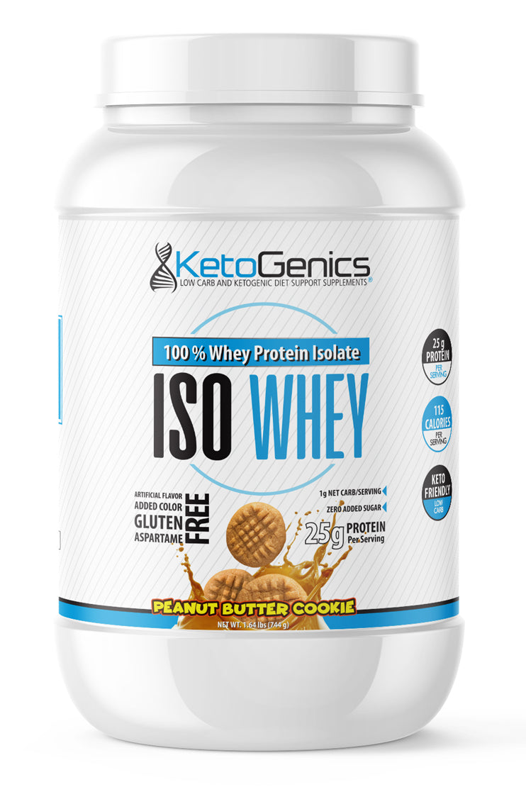 Peanut Butter Keto Friendly Whey Protein