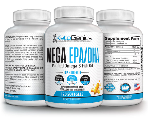 Ketogenic Fish Oil Supplement
