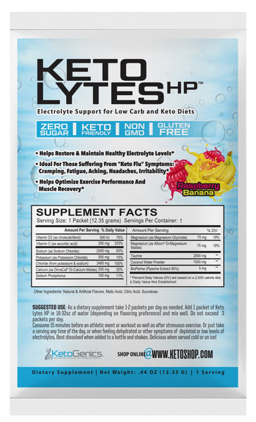 Raspberry Banana Keto Lytes HP