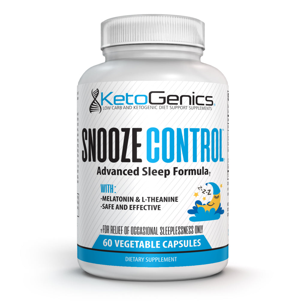 SnoozeControl™ - Advanced Sleep formula with L-theanine