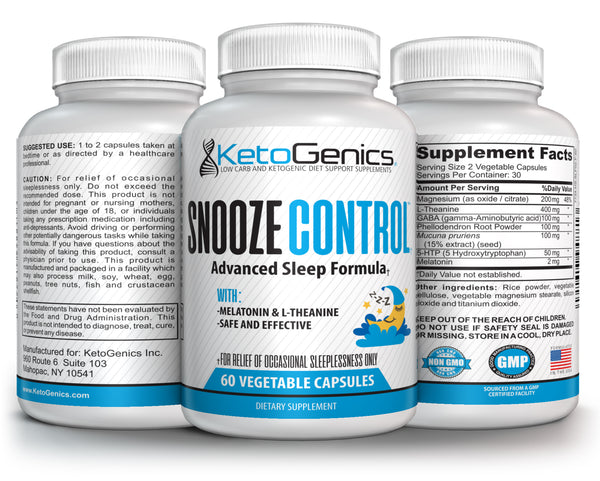 Ketogenic Diet Sleeping Pills