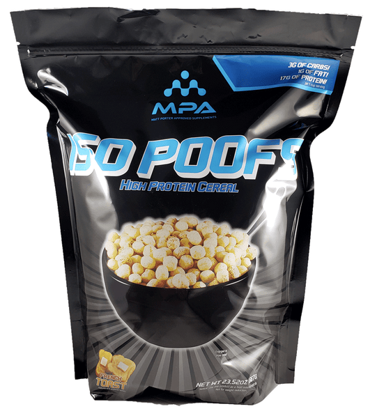 MPA ISO POOFS FRENCH TOAST FLAVOR