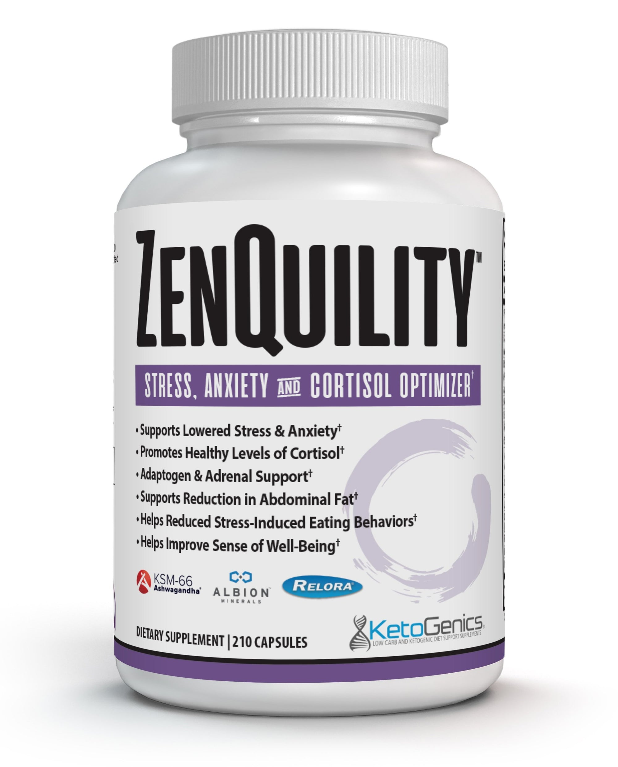 ZenQuility Anti Stress Anxiety and Cortisol Control