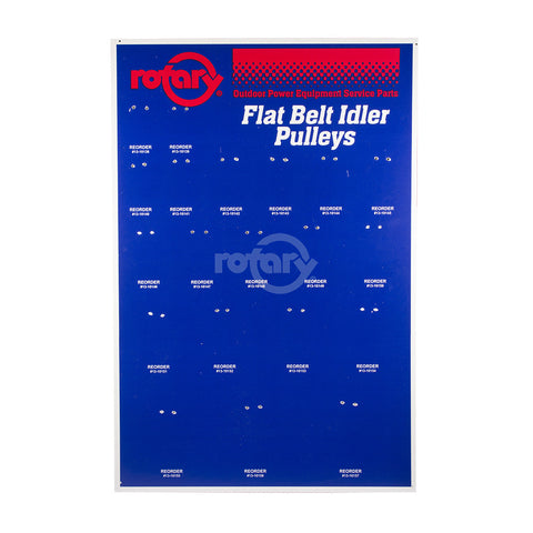Rotary - 10207 - BOARD FLAT IDLER ASSORTMENT COMPOSITE (BOARD ONLY) - Rotary Parts Store