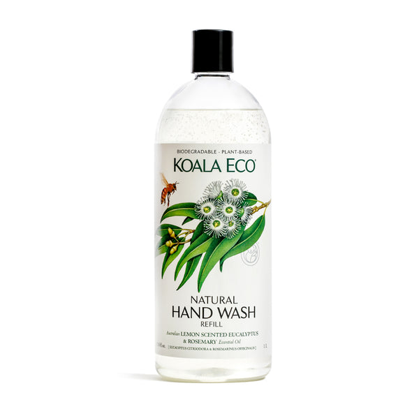 Natural Hand Wash (Lemon Scented Eucalyptus & Rosemary) - REFILL