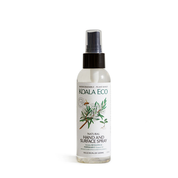 Natural Hand and Surface Spray (Rosalina & Peppermint)